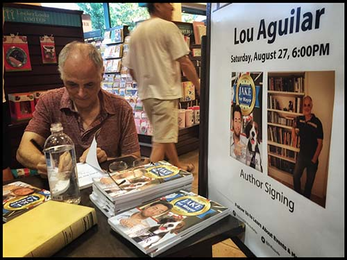 Lou Aguila D.C. Book Signing 3
